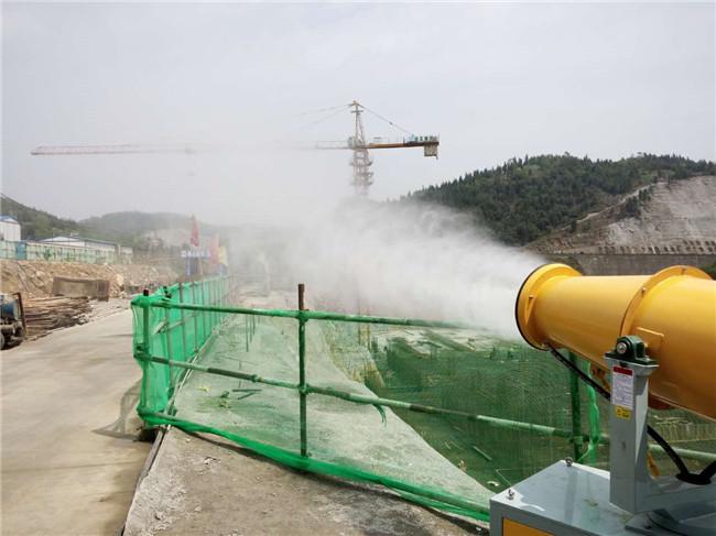 工地建筑除塵霧炮供應商 工地建筑除塵霧炮生產廠家-- 杭州凝輝環保設備有限公司