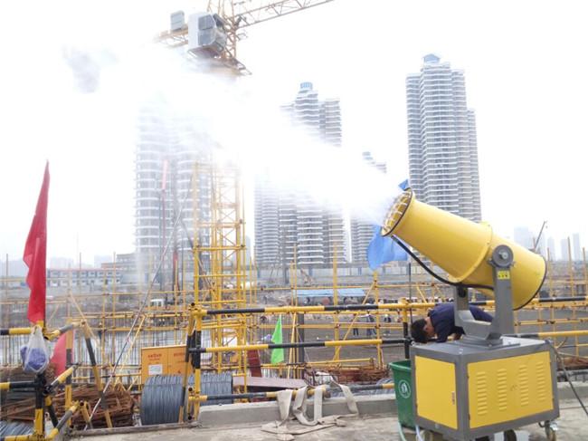 工地建筑除塵霧炮生產廠家 工地建筑除塵霧炮供應商-- 杭州凝輝環保設備有限公司