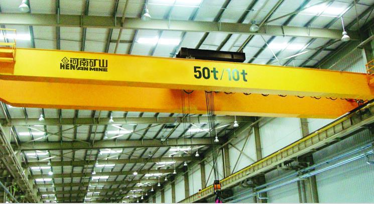 QY5-10吨绝缘桥式起重机-- 河南省矿山起重机有限公司