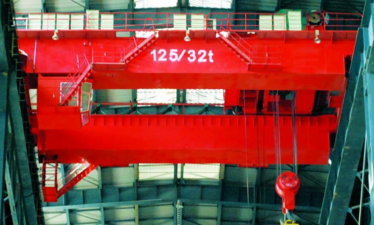 QDY5-74吨吊钩桥式铸造起重机-- 河南省矿山起重机有限公司