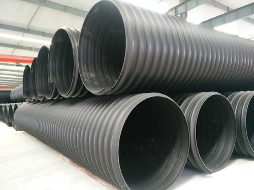 PE钢带增强螺旋波纹管-- 兰州皓源管业有限公司