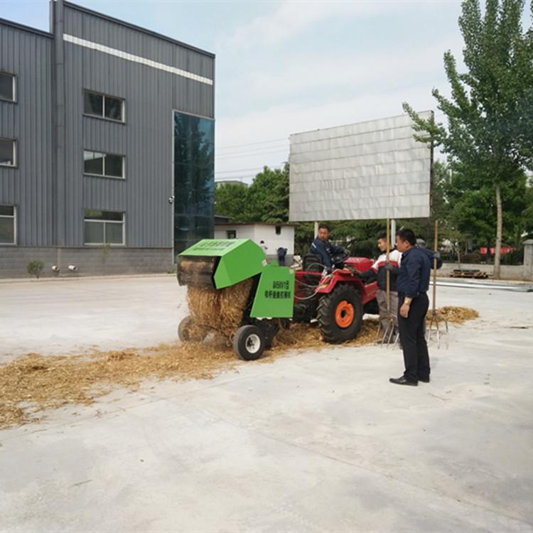 8050型玉米秸秆捡拾圆捆打捆机厂家-- 曲阜鑫联重工机械制造有限公司