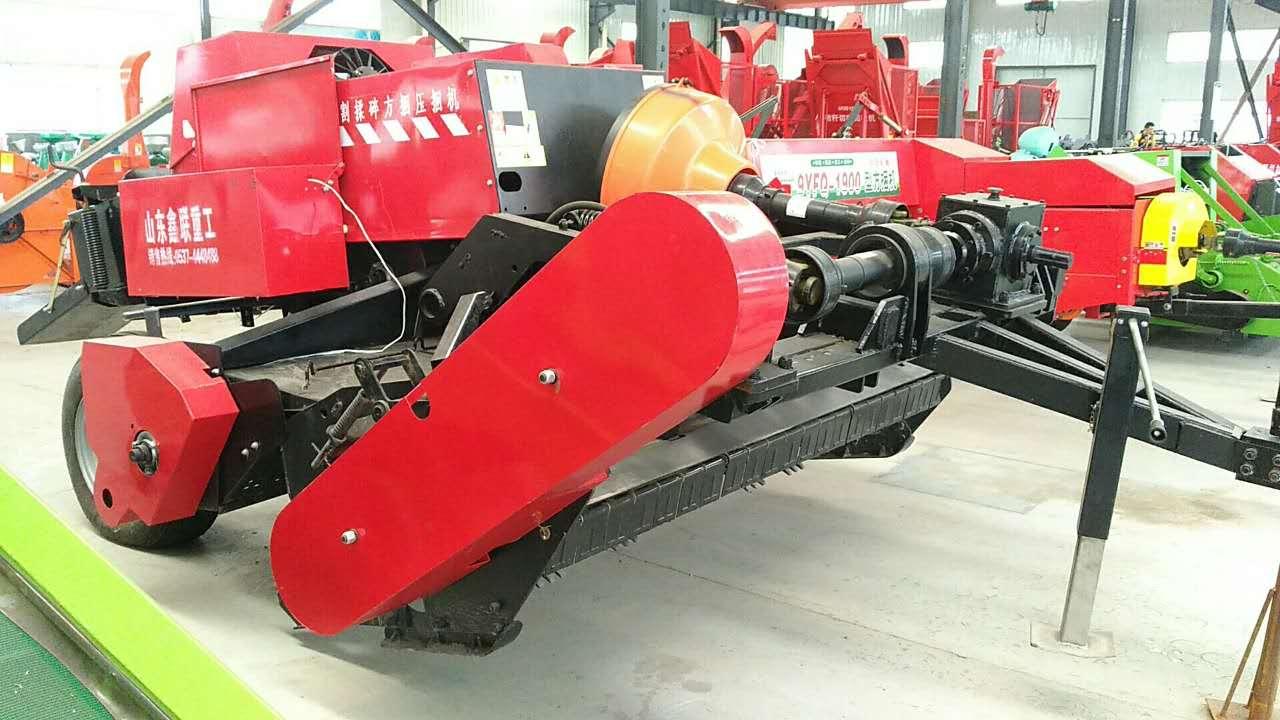 山東粉碎型方捆機廠家直銷-- 曲阜鑫聯重工機械制造有限公司