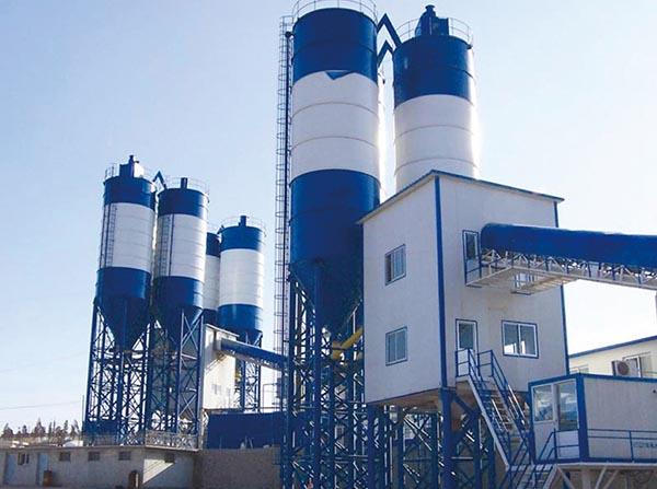 混凝土搅拌站-- 山东贝安重工有限公司