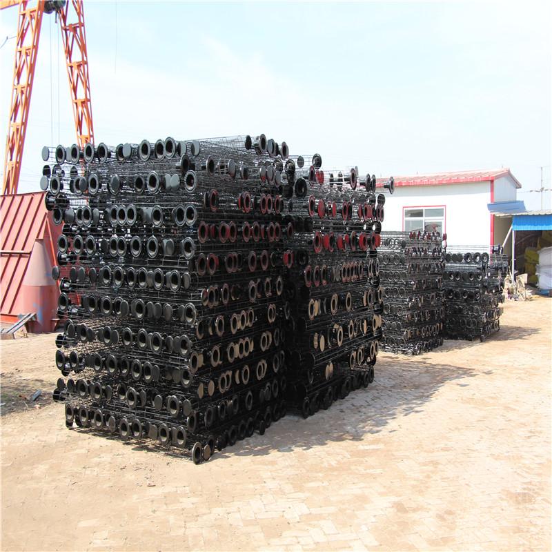 直銷 125口徑噴塑除塵骨架 橢圓形除塵器骨架 產品合格-- 河北新日環保設備制造有限公司
