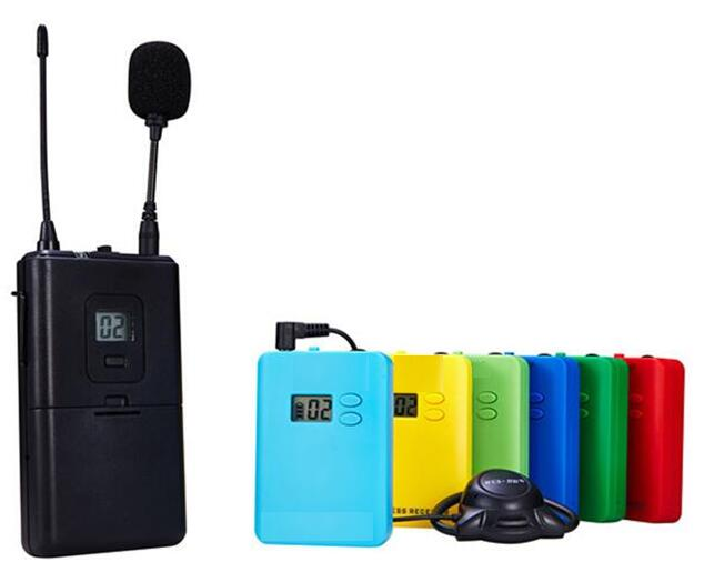 无线耳挂式讲解系统/无线导游机-- 上海映茂文化传播有限公司