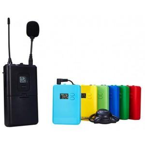 无线耳挂式讲解系统/无线导游机