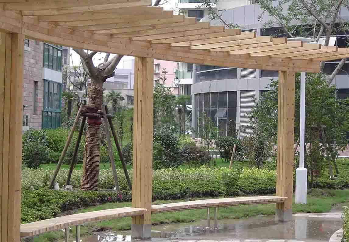 B6004防腐木制品-- 武汉鑫常绿环保科技有限公司