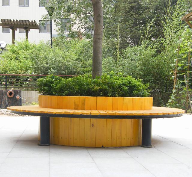 B4007树围椅-- 武汉鑫常绿环保科技有限公司