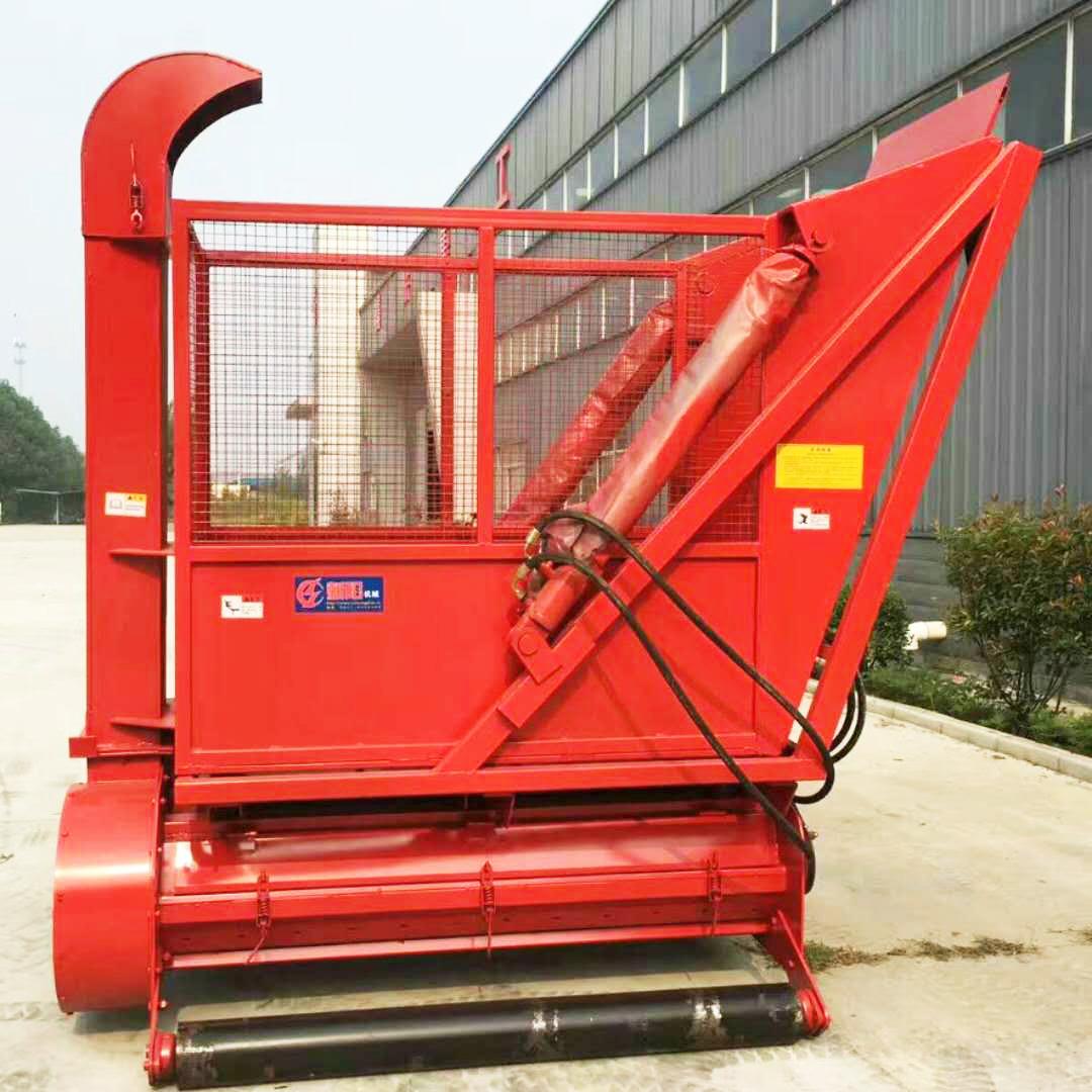 吉林行走式玉米秸稈收割機 生物質電廠玉米秸稈收集機價格-- 曲阜鑫聯重工機械制造有限公司
