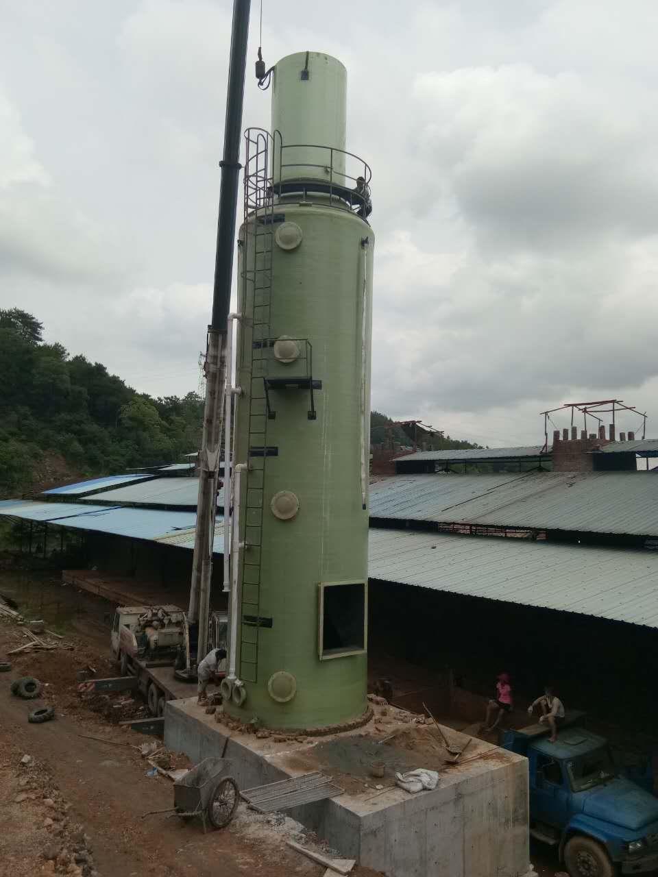 砖厂脱硫塔-- 河北泉润泽玻璃钢有限公司