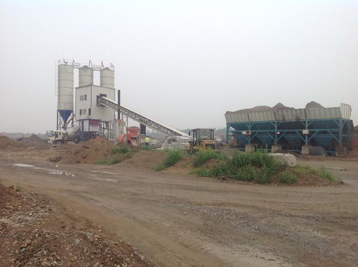 贝特HLS90混凝土搅拌站直销-- 山东潍坊贝特工程机械有限公司