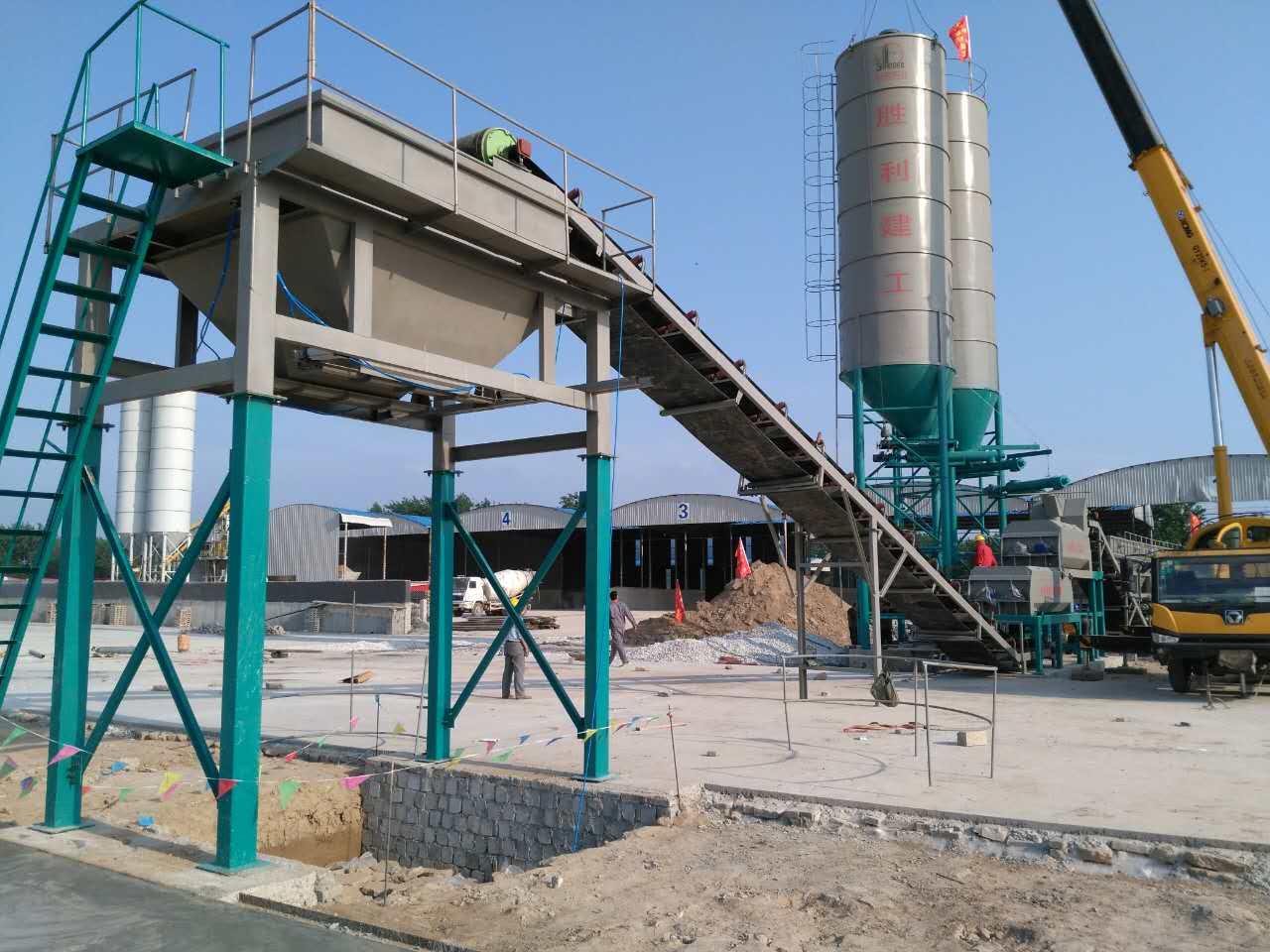 贝特二次搅拌水稳拌合站直销-- 山东潍坊贝特工程机械有限公司