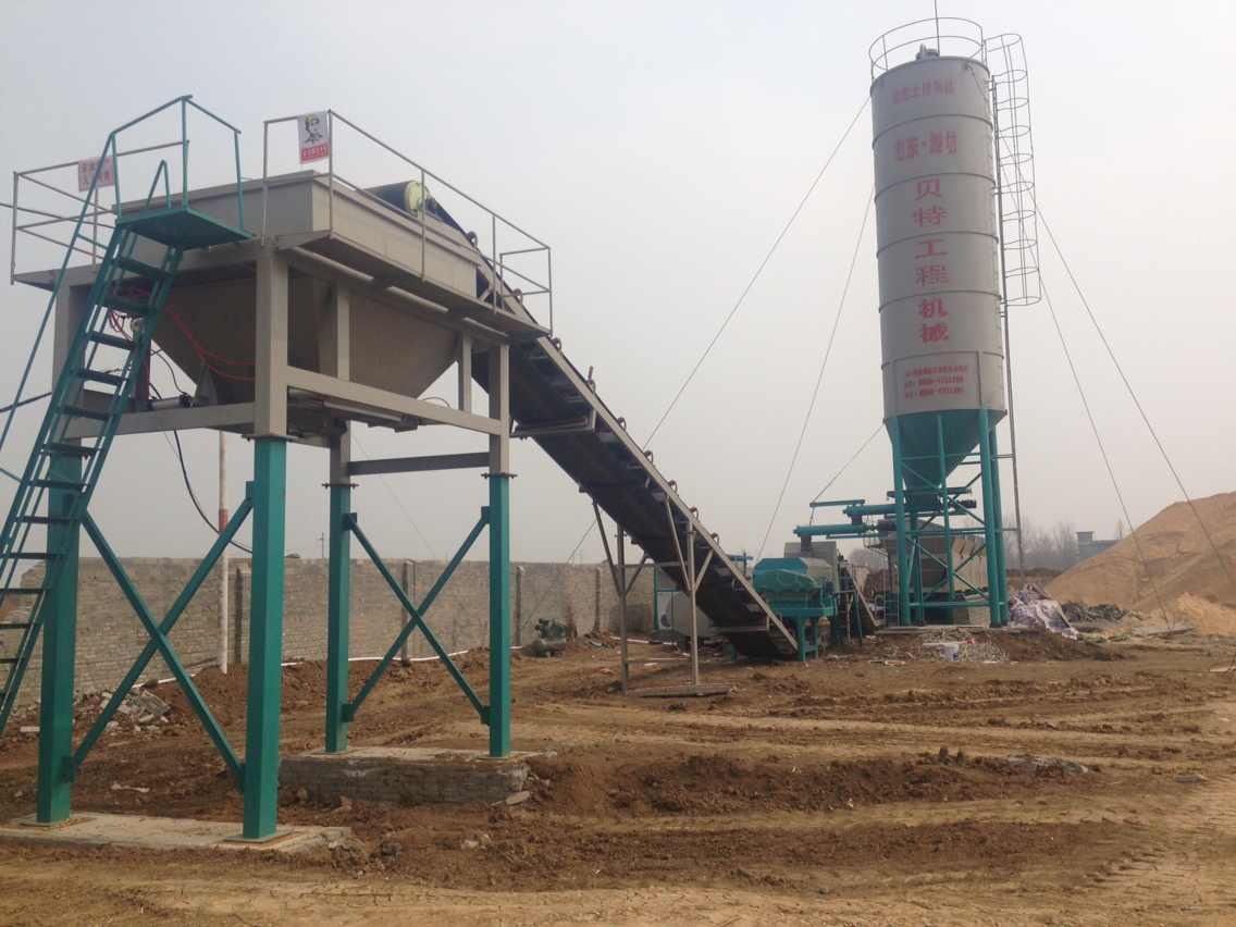 600型稳定土拌合站价格潍坊贝特厂家直销-- 山东潍坊贝特工程机械有限公司