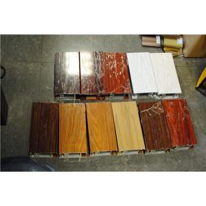 仿木纹热转印铝型材