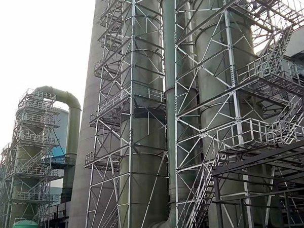 鍋爐脫硫塔-- 河北華強科技開發有限公司