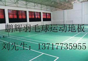 羽毛球場地塑膠地板羽毛球地板材料 羽毛球拼裝地板-- 北京東方鵬輝科技有限公司