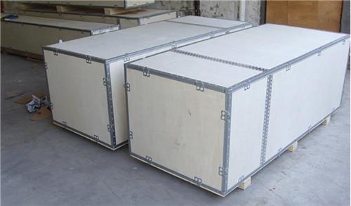 钢带木箱-- 广州市铂纳包装材料有限公司