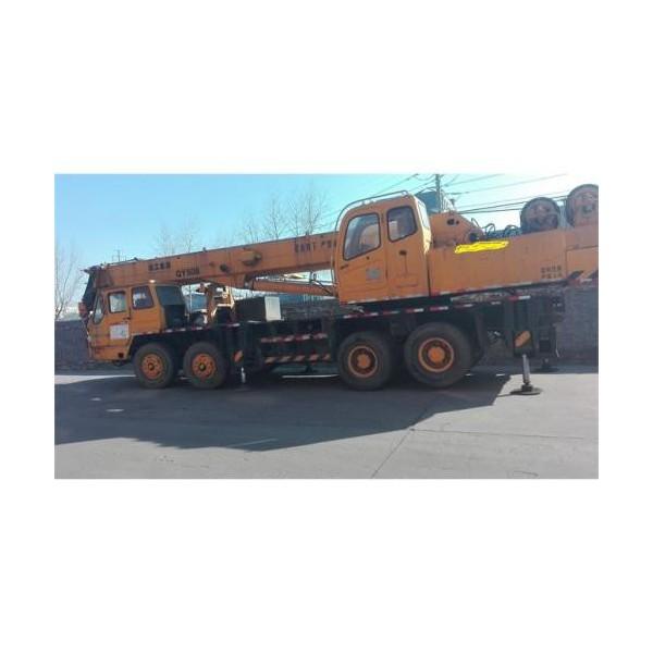 西安50吨吊车出租-- 西安沙玛吊装公司