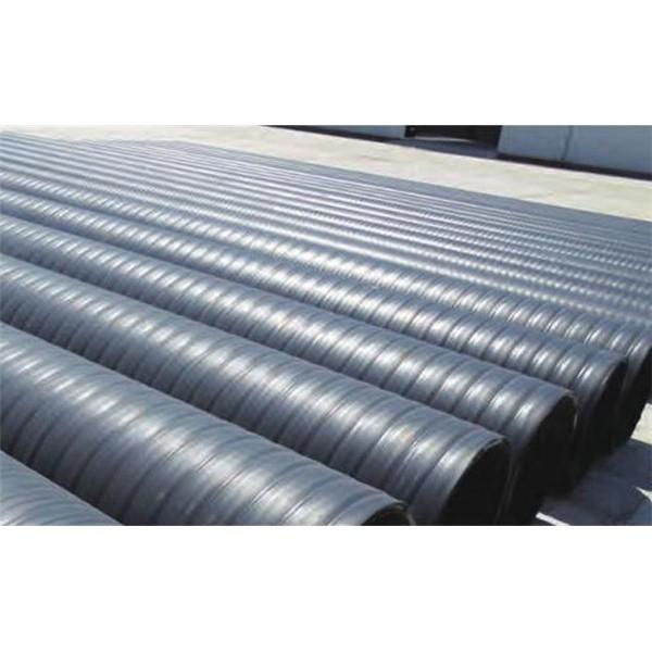 立筋式中空壁鋼塑復合纏繞管-- 上海瑞皇管業科技有限公司