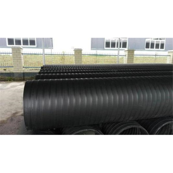 HDPE雙平壁鋼塑復合排水管-- 上海瑞皇管業科技有限公司